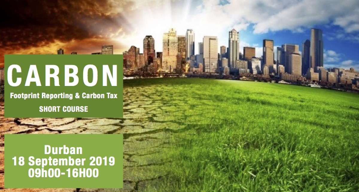 Join Our Carbon Footprint Management Course - Sept 2019